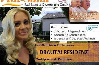 Wohnung mieten in 9711 Paternion, Betreutes Wohnen mit Pflegegarantie in der Vita Sana Drautalresidenz