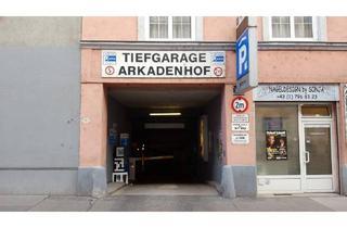 Immobilie mieten in Würtzlerstraße, 1030 Wien, Garage Arkadenhof