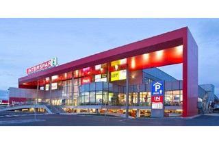Büro zu mieten in Gewerbepark (Ipari Park), 7501 Unterwart, 123m² Einzelhandelsfläche in einem modernen Einkaufscenter