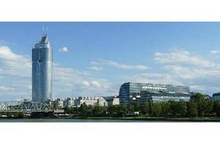 Büro zu mieten in 1200 Wien, Büro im 24. Stock, 100 m², Arbeiten in ungewöhnlicher Höhe