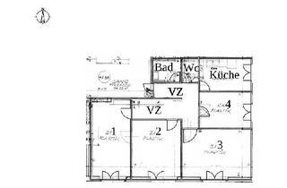Wohnung mieten in Wohlmutstrasse 24, 1020 Wien, WG fähige 4 Zimmer Wohnung