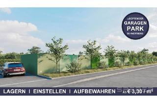 Immobilie mieten in 4311 Schwertberg, Garagenpark Schwertberg - jetzt Garage od. Storage Box mieten