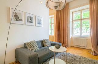 Wohnung mieten in Am Heumarkt, 1030 Wien, Exquisite möblierte Business-Wohnung in 1030 Wien - Wohnen in der Nähe des Stadtparks (U-Bahnstation und Central Park)