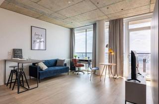 Wohnung mieten in Schnirchgasse 13, 1030 Wien, ERSTBEZUG: möbliertes Apartment über den Dächern Wien mit großen Balkon - Linked Living TrIIIple