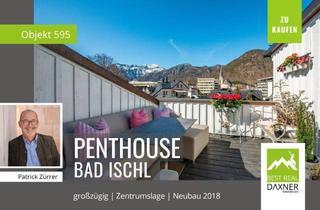 Penthouse kaufen in 4820 Bad Ischl, 165m² Penthouse NEUBAU in Zentrumslage von Bad Ischl